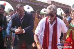 Sanjay Dutt, Amitabh Bachchan
