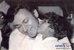 Dr. Rajkumar with Puneet Rajkumar