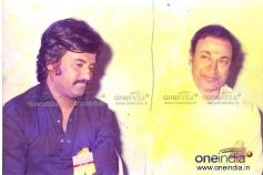 Dr. Rajkumar with Super Star Rajiniknath