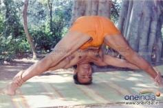 Dr. Rajkumar Yoga practice