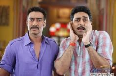 Ajay Devgn, Abhishek Bachchan
