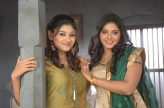 Oviya Helen and Anjali
