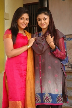 Anjali and Oviya Helen