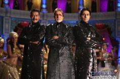 Ajay Devgn, Amitabh Bachchan, Abhishek Bachchan