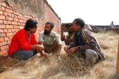 Zeeshan Quadri with his Gang