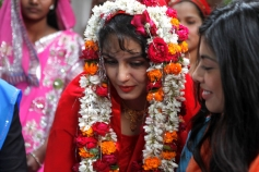 Huma Qureshi in Wedding Look