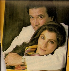 Rajesh Khanna with his Wife