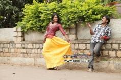 Yagna Shetty and Shanker Aryan in Kannada Movie Sadagara