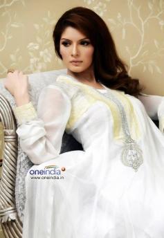 Saeeda Imtiaz in White Dress