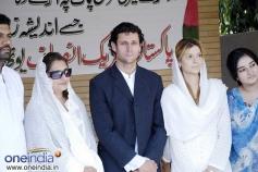 Actress Saeeda Imtiaz in a Event