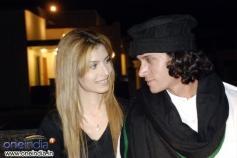 Saeeda Imtiaz with Abdul Mannan