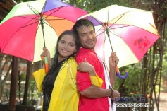 Romantic Scene in Kannada Film Adhikaara