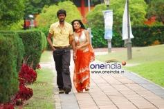 Ramya with Sudeep