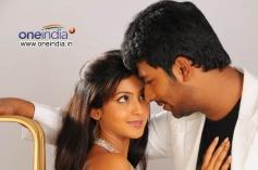 Santan Bhagyaraj and Aindrita Ray Stills