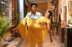Santan Bhagyaraj with Aindrita Ray