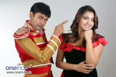 Sharan and Madhuri in Kannada Film Rambo