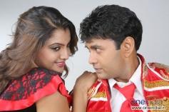 Madhuri and Sharan in Kannada Movie Rambo