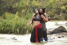 Santhosh Sivan and Karthika Nair in Ravi Varma