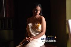Hot Look Nithya Menon in Ravi Varma