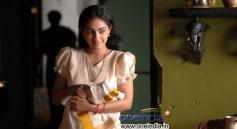 Traditional Look Nithya Menon in Ravi Varma