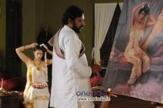 Santhosh Sivan & Nithya Menon in Telugu Movie Ravi Varma