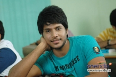 Sandeep in Routine Love Story