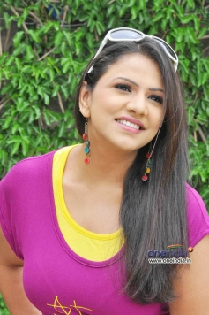 Shivani in Pink Top
