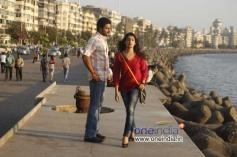 Aditya and Akanksha in Kannada Film Edegarike