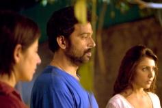 Manisha Koirala, JD Chakravarthy and Madhu Shalini