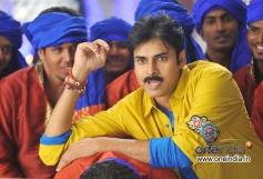 Pawan Kalyan in Yellow T-Shirt
