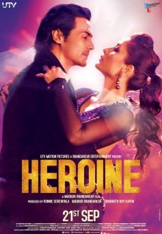 Heroine Poster of Arjun and Kareena