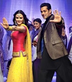 Priety Zinta and Salman Khan