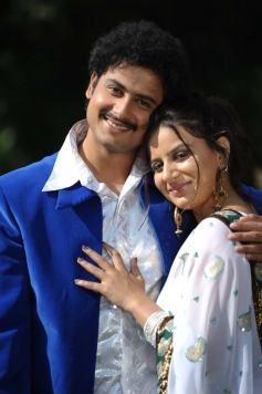 Sandesh and Pooja Gandhi