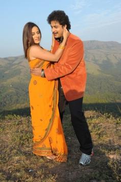Pooja Gandhi and Sandesh
