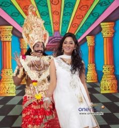 Duniya Vijay and Dr Bharathi