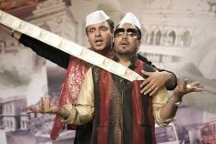Vivek Oberai and Mika Singh