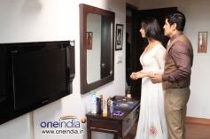 Vikram and Anushka Shetty in Thandavam