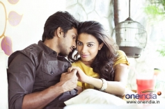 Chandru and Kavya Shetty