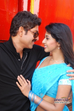 Jagapati Babu with Gayatri Iyer
