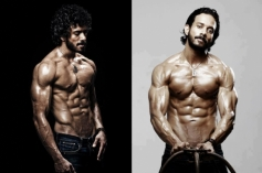 Bharath Six Pack for 555 Movie