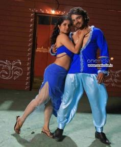 Shubha Poonja and Vijay Raghavendra