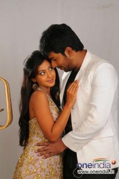 Santan Bhagyaraj & Aindrita Ray