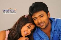 Aindrita Ray and Santan Bhagyaraj