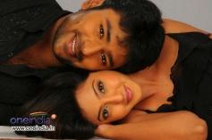 Santan Bhagyaraj and Aindrita Ray