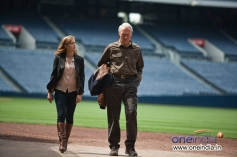 Amy Adams and Clint Eastwood