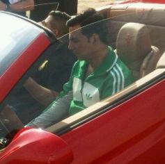 Akshay Kumar and Honey Singh