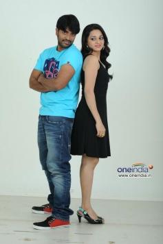 Srinivas & Reshma in Love Cycle