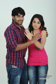 Srinivas and Reshma in Love Cycle