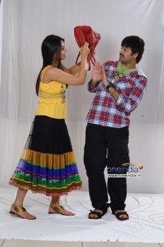 Yashwin with Nikitha Narayan