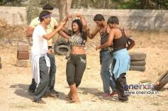 Telugu Movie O Aunty Katha Hot Photos